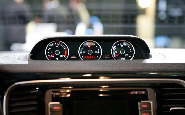 dash cover volkswagen beetle   turbo gauges version