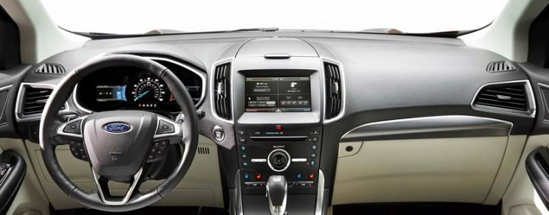 2015 Ford Edge For Sale >> Dash Cover - Ford Edge 2015 - 2018