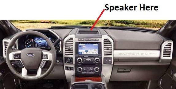 2018 Ford F150 Colors >> Dash Cover - Ford F Series SuperDuty 2017-2018 * Low Profile Speaker in Center Bin