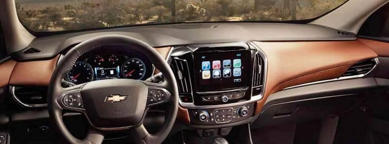 Chevy Colorado Interior >> Chevrolet Traverse 2018-2019 - DashCare Dash Cover
