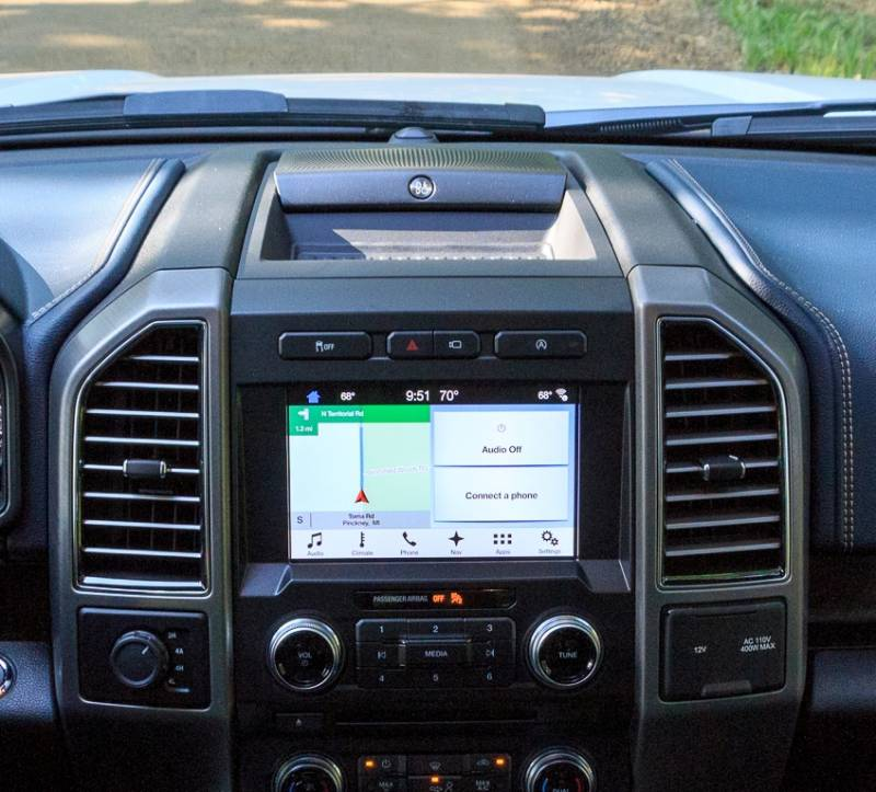 Dash Cover - Ford F150 Pickup 2018 * With B&O Raised Center Speaker!