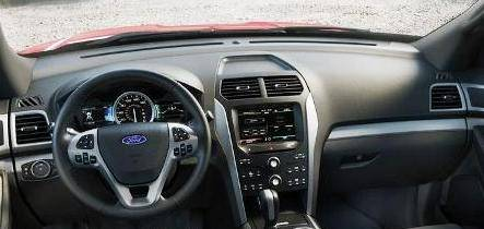 Dash Cover Ford Explorer 2015 2018 Recessed Bin In