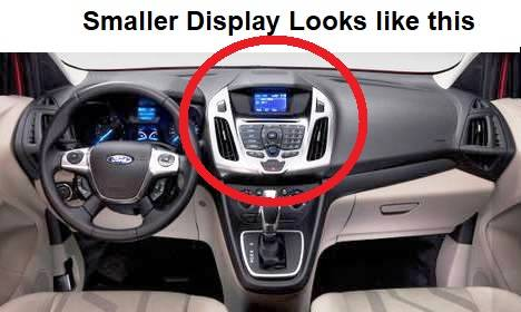 Build Your Own Ford >> Dash Cover - Ford Transit Connect Van 2014-2018 (Large ...