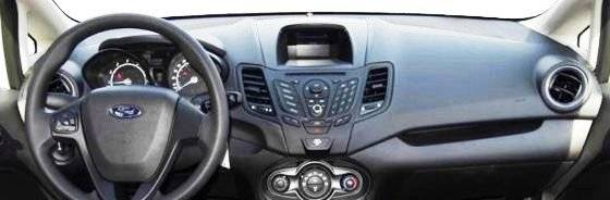 Ford Fiesta 2014 2019 Dashcare Dash Cover