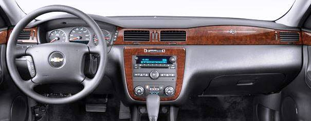 Chevrolet Impala 2006-2013 - DashCare Dash Cover