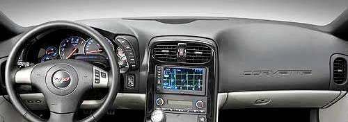 Chevrolet Corvette 2005-2013 w// HUD Velour Dash Cover Mat Black