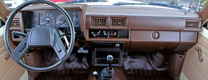 New Black Accu-Form Molded Dash Cap FOR 1984-1986 TOYOTA 4RUNNER TRUCK SUV