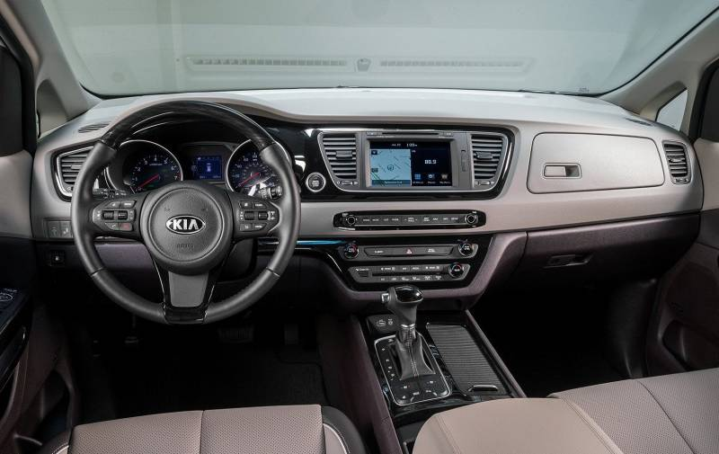 Fits Kia Sedona 2015-2021 Brushed Suede Dash Board Cover Mat Grey