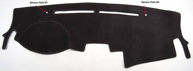 J42 AKMOTOR Dash Cover Dashboard Cover Mat Fit for Kia Sorento 2011 2012 2013 w//o Dash Speaker 11-13 Black