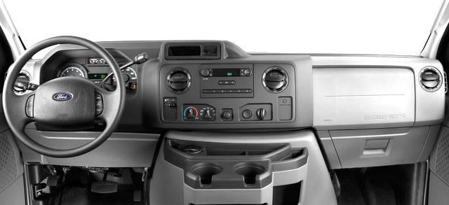 Ford Transit 12 Passenger Van >> Dash Cover - Ford E Series Van 2009-2015