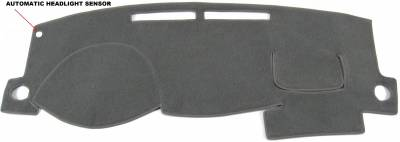 DashCare by Seatz Mfg - Toyota Corolla 2003-2008 -  DashCare Dash Cover