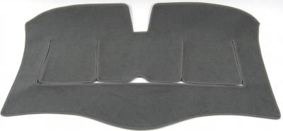 DashCare by Seatz Mfg - Rear Deck Cover - Mercedes 260/280/300/400/500 E/CE/D/TD/TE  1986-1995