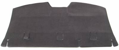 Camry Rear Deck No Sunshade cutout