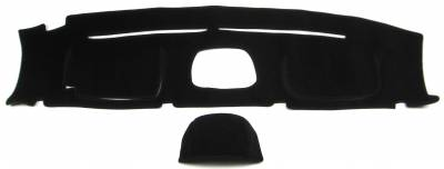 "Toyota FJ Cruiser w/Instr. 2007-2013 Dash Cover version ""A"" With optional Instrument display"