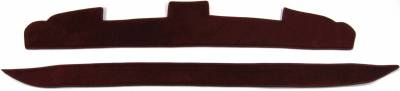 DashCare by Seatz Mfg - Dash Cover - Ford Thunderbird 1980-1982 (2 Level Dash)