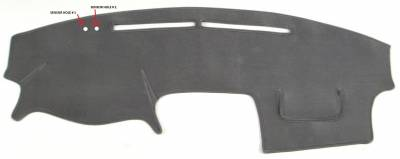 DashCare by Seatz Mfg - Dash Cover - Toyota Camry 2002-2006