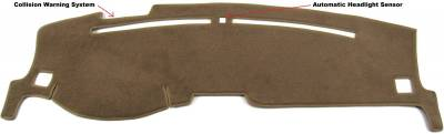 DashCare by Seatz Mfg - Dash Cover - Lincoln MKS 2009-2012