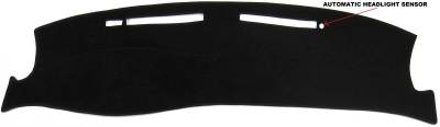 DashCare by Seatz Mfg - Dash Cover - Cadillac Seville STS & SLS 1998-2004