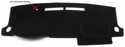 DashCare by Seatz Mfg - Chevrolet Cobalt 2005-2010 -  DashCare Dash Cover