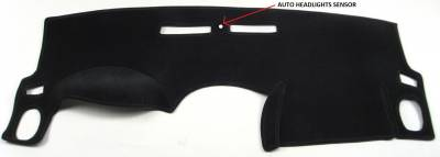 DashCare by Seatz Mfg - Dash Cover - Chevrolet Malibu Classic 2008