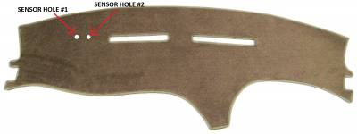 DashCare by Seatz Mfg - Dash Cover - Mercury Cougar 1994-1998