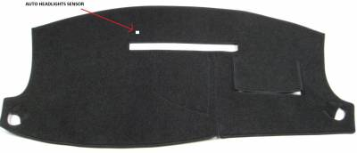 DashCare by Seatz Mfg - Dodge Durango 2004-2010 -  DashCare Dash Cover