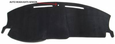 DashCare by Seatz Mfg - Dash Cover - Dodge Charger 2005-2007