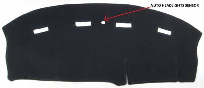 DashCare by Seatz Mfg - Chrysler LHS 1994-1998 -  DashCare Dash Cover