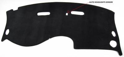 DashCare by Seatz Mfg - Chrysler 300M 1999-2004 -  DashCare Dash Cover