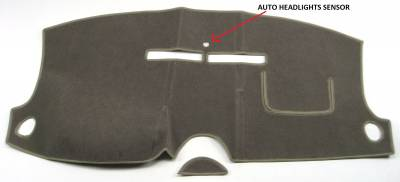 DashCare by Seatz Mfg - Chrysler Aspen 2007-2009 -  DashCare Dash Cover