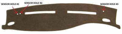 DashCare by Seatz Mfg - Dash Cover - Ford Crown Victoria 1995-2011