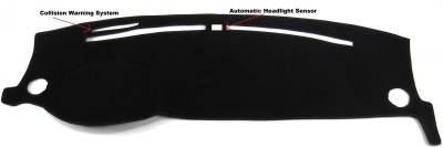 DashCare by Seatz Mfg - Dash Cover - Lincoln MKS 2013-2015