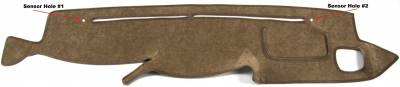 DashCare by Seatz Mfg - Dash Cover - Toyota Landcruiser 1999-2007