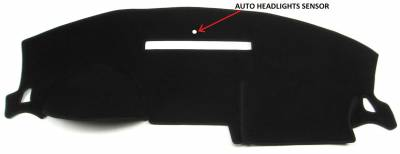 DashCare by Seatz Mfg - Dash Cover - Mazda 3 2004-2009 (No Nav Display)