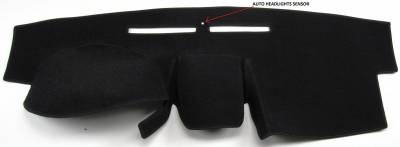 DashCare by Seatz Mfg - Mitsubishi Galant 2007-2012 (With Large Display) -  DashCare Dash Cover
