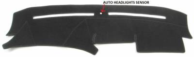 DashCare by Seatz Mfg - Dash Cover - Mercedes S Class 1992-1999