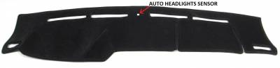 DashCare by Seatz Mfg - Dash Cover - Mercedes E Class 1996-2002