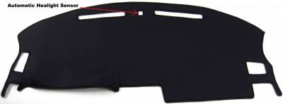 DashCare by Seatz Mfg - Dash Cover - Dodge Challenger 2008-2014