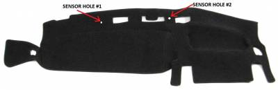 DashCare by Seatz Mfg - Dash Cover - Jeep Grand Cherokee 1996-1998