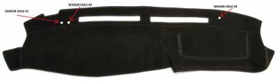 DashCare by Seatz Mfg - Dash Cover - Oldsmobile Delta 88 LSS Regency Royal 98 1994-1999