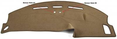 DashCare by Seatz Mfg - Dash Cover - Lincoln Blackwood 1998-2002