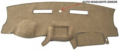 DashCare by Seatz Mfg - Dash Cover - Volkswagen Routan 2009-2012
