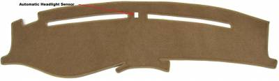 DashCare by Seatz Mfg - Dash Cover - Kia Optima 2001-2006