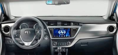 Scion iM dash looks like this