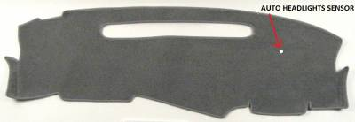 DashCare by Seatz Mfg - Dash Cover - GMC Jimmy S15 1998-2001 Small