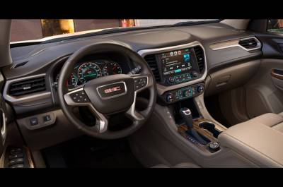 All New Acadia Dash looks like this