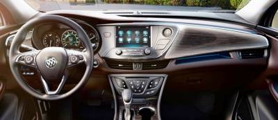 Buick Envision Dash looks like this