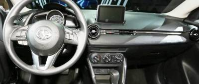 Toyota Yaris iA dash looks like this