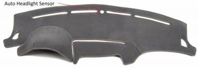 DashCare by Seatz Mfg - Dash Cover - Subaru Forester 2009-2013