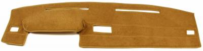 DashCare by Seatz Mfg - Dash Cover - Dodge Pickup D50 Small Size 1987-1992